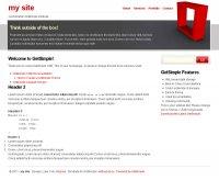 Скачать бесплатный шаблон Conceptnova для GetSimple CMS