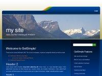 Скачать бесплатный шаблон для GetSimple CMS