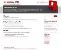 Скачать бесплатный шаблон Conceptnova для gpEasy CMS