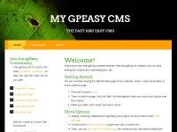 Скачать бесплатный шаблон для gpEasy CMS