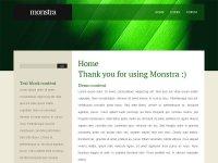 Скачайте бесплатный Шаблон для Monstra CMS 1.3.1